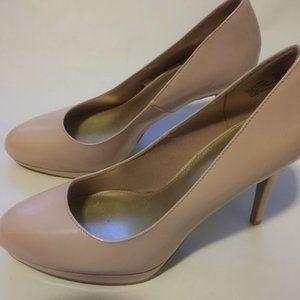 Nude/Pale Pink Christian Siriano Heels Sz 9.5
